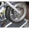 Rampa di carico pieghevole in alluminio tripla