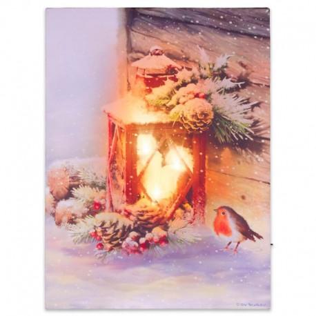 """Quadro luminoso di Natale """"Lanterna Natalizia"""""""