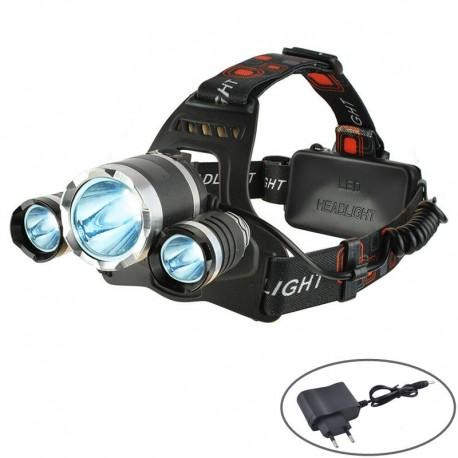 Torcia frontale led ricaricabile professionale