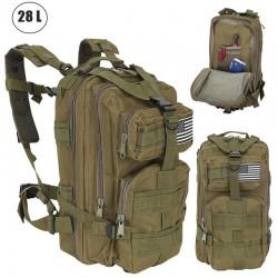 Zaino tattico militare 30 litri per trekking, survival, campeggio