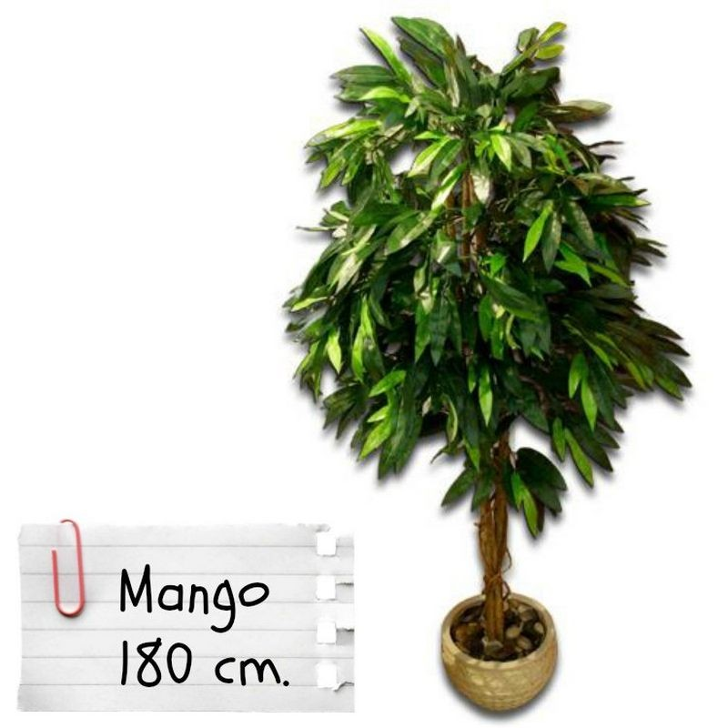 piante finte artificiali da arredo interno mango 180 cm