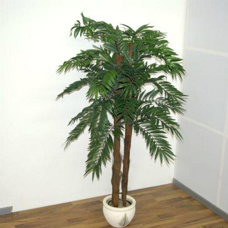 Piante finte artificiali da arredo interno: Palma Areca 150 cm.