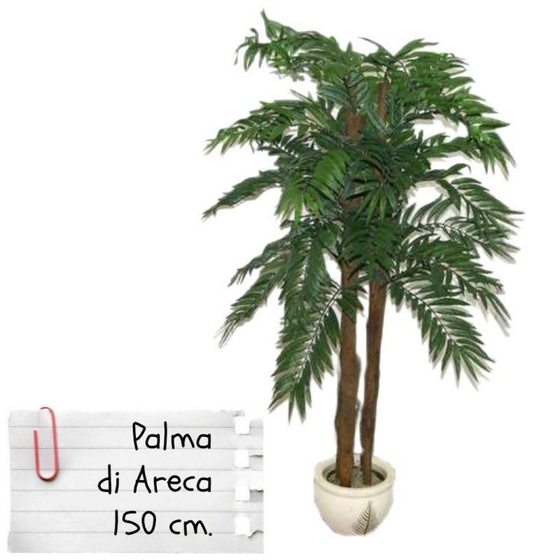Piante Palme Da Appartamento.Piante Finte Artificiali Da Arredo Interno Palma Areca 150 Cm