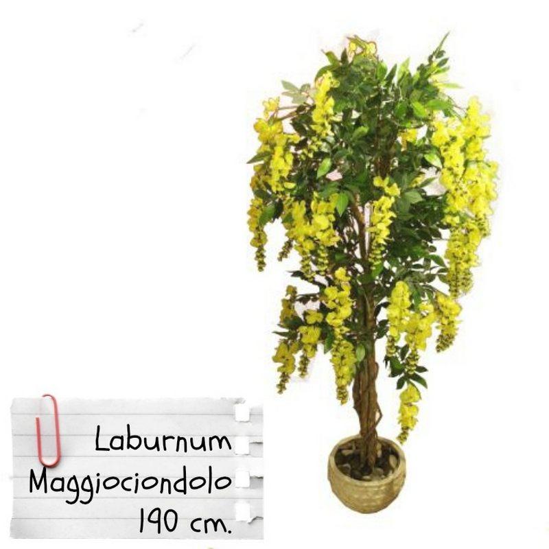Piante finte artificiali da arredo interno maggiociondolo - Lampade per piante da interno ...