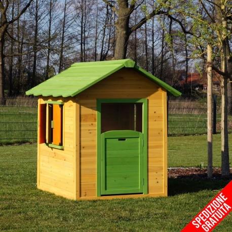 Casetta per bambini in legno da giardino for Casetta per bambini ikea