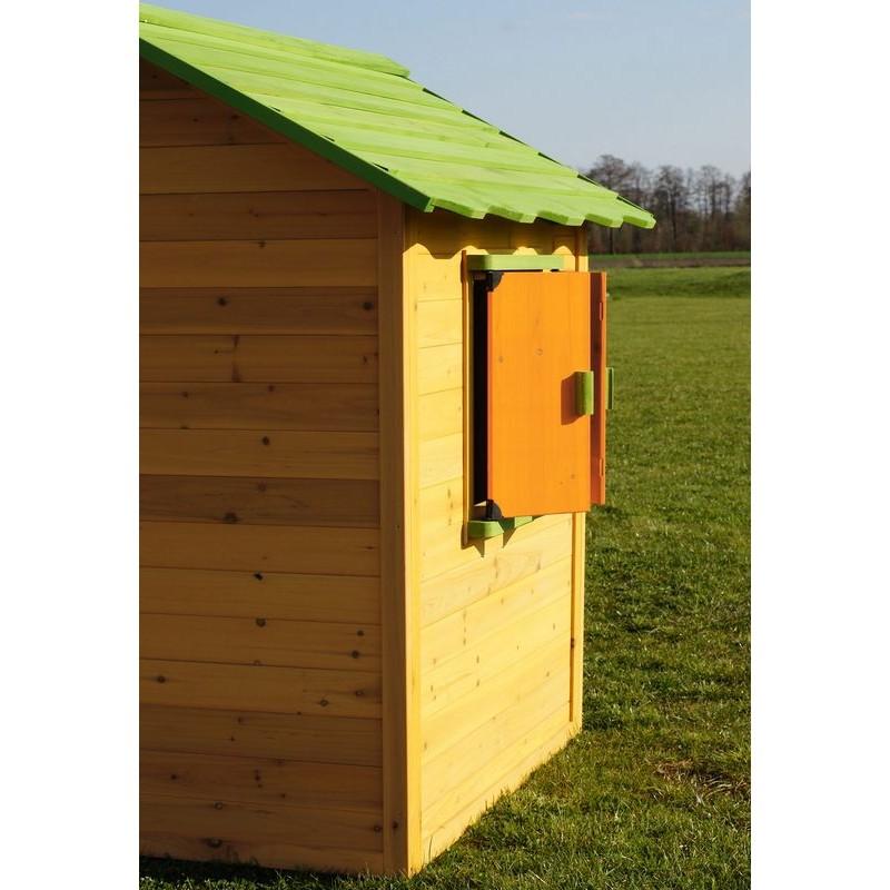 Casetta per bambini in legno da giardino for Grande casetta per bambini