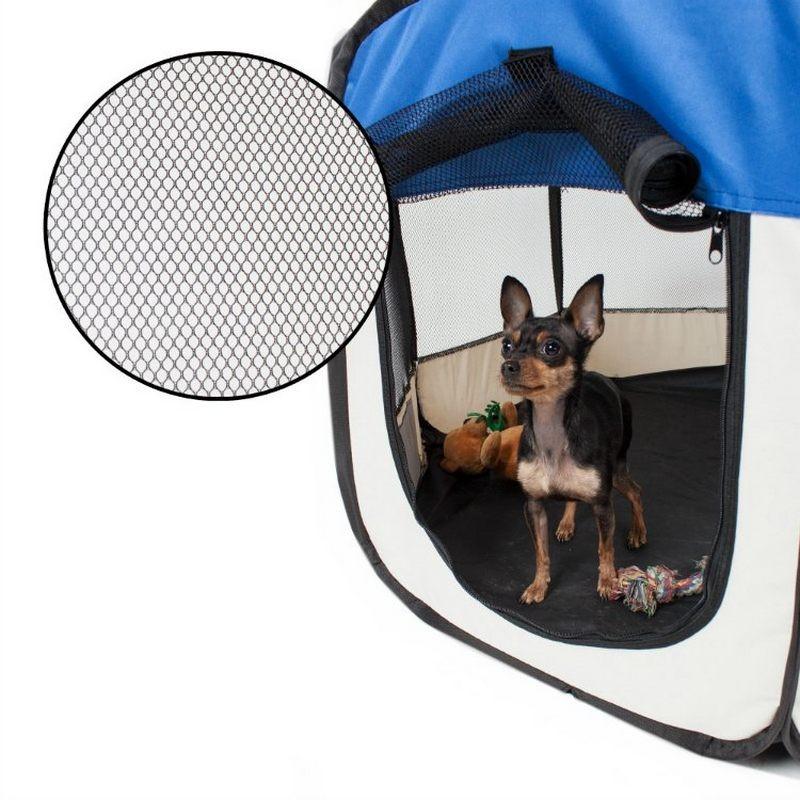 Recinto per cani da interno pieghevole e per cuccioli for Recinto in legno per cani