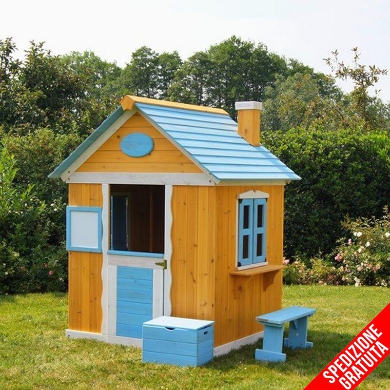 Casetta in legno per bambini da giardino - Casetta di legno per giardino ...