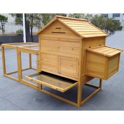 Pollaio per galline ovaiole in legno