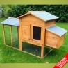 Pollaio in legno per galline ovaiole