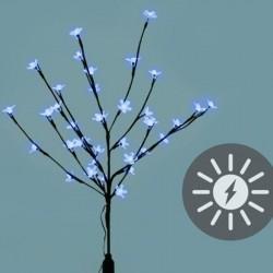Albero luminoso con 36 Led bianco freddo a energia solare