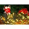 Luci di Natale da esterno: 100 minilucciole Led