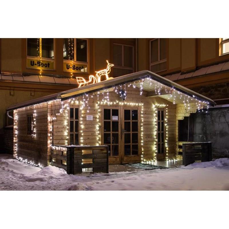 Luci di Natale per esterno: 200 minilucciole Led