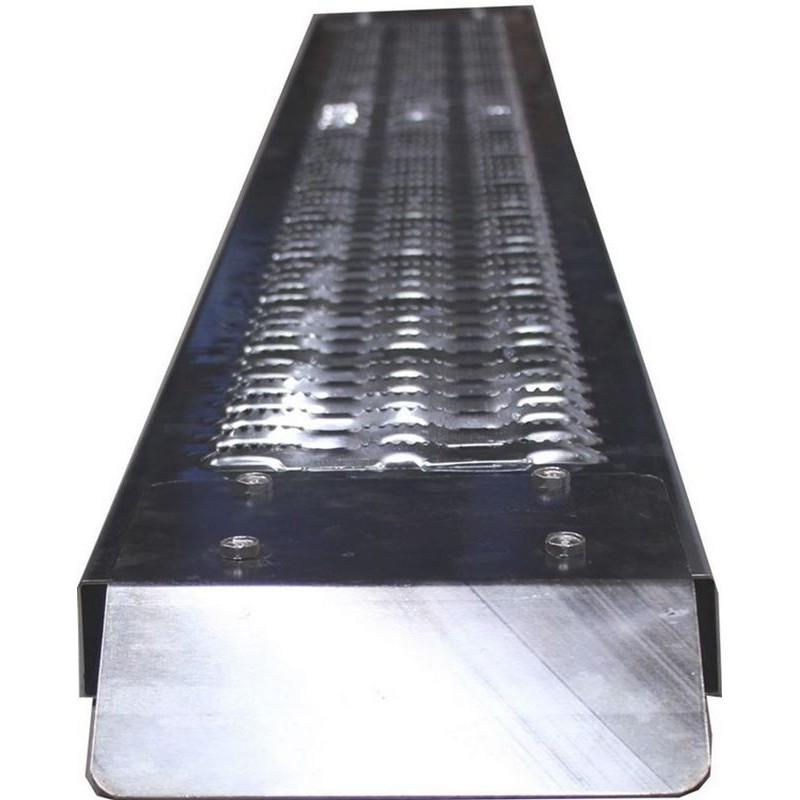 Rampa di carico per moto da 2 metri in acciaio