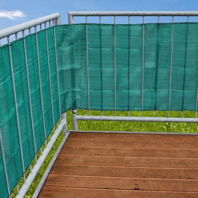 Telo privacy per ringhiera balcone da 5 metri for Teli in pvc per laghetti da giardino