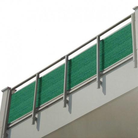 Telo privacy per ringhiera balcone da 5 metri for Idee per coprire ringhiera balcone