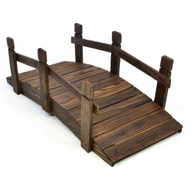 Ponticello di legno per decorazioni giardino da 70 cm - Decorazioni legno ...