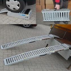 Rampa di carico pieghevole per auto e moto