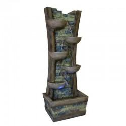 Fontane da giardino e fontanelle in poliresina o in legno emporio genova - Fontana a colonna da giardino ...