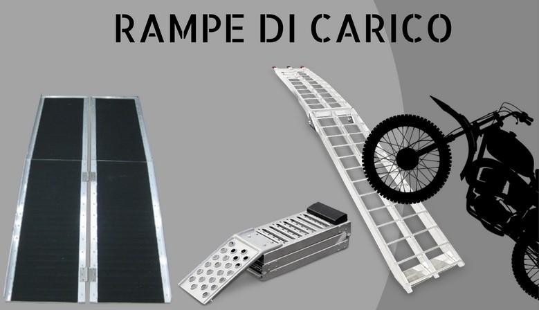 Rampe di carico in alluminio per moto, auto e disabili